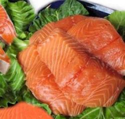 El salmón salvaje puede perder su pureza