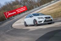 SEAT León ST CUPRA, el familiar más rápido en Nürburgring Nordschleife con el maletero lleno