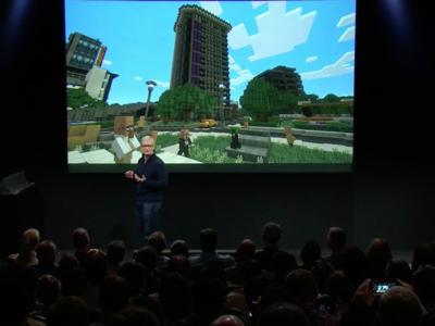 Minecraft llegará al Apple TV a finales de año