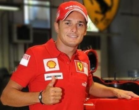 Giancarlo Fisichella será probador y reserva de Ferrari en 2010
