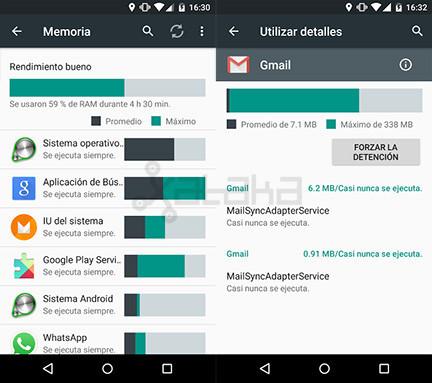 La memoria RAM, el punto débil que Google quiere mejorar con Android M