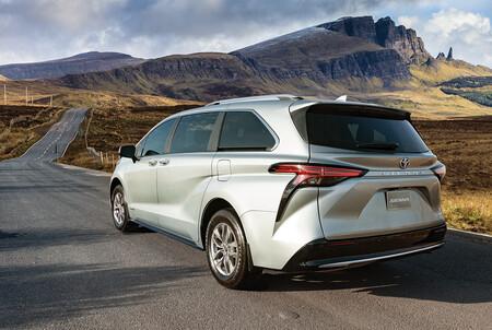 Toyota Sienna 2021 Minivan Hibrida Precio Mexico 18