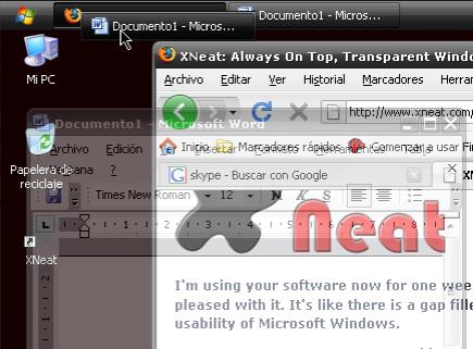 Organiza tus ventanas en Windows con XNeat