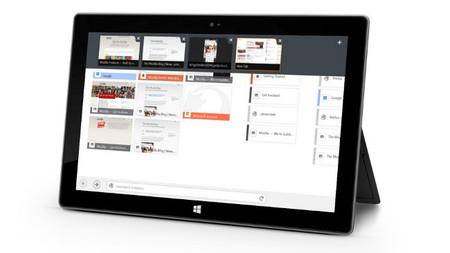 La versión Modern UI de Firefox desembarca al fin en Windows 8 en versión beta