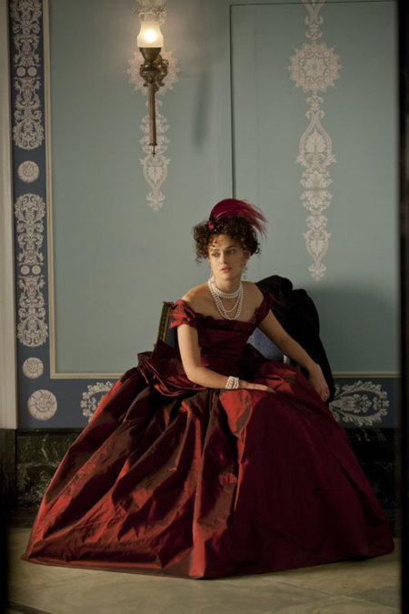 Moda de cine: el vestuario de Anna Karenina