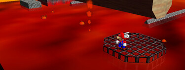 Super Mario 64: cómo conseguir la estrella Red-Hot Log Rolling de Lethal Lava Land