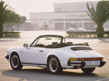 Porsche 911 Cabrio serie G