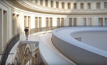 Interior nueva Bolsa Comercio París