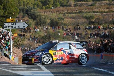 Rally de Catalunya 2011: Sébastien Loeb mantiene las distancias con Jari-Matti Latvala
