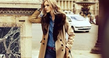 Lecciones de estilismo en una campaña: Reserved Otoño-Invierno 2011/2012 con Sasha Pivovarova
