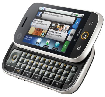Motorola CLIQ con Android, en España conoceremos como DEXT