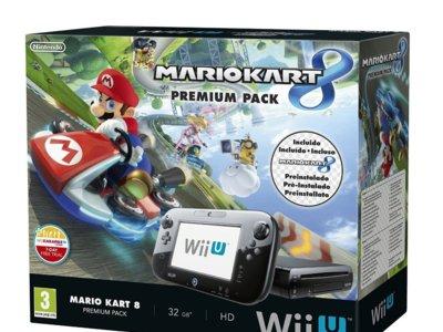 Nintendo Wii U + Mario Kart 8 por 259 euros