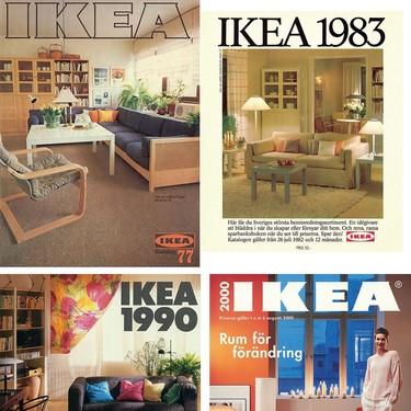Así ha cambiado el mobiliaro de las casas desde los años 50: Ikea digitaliza todos los catálogos de su historia
