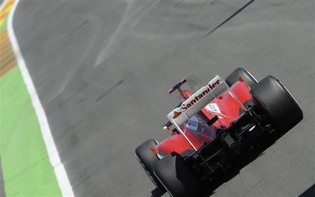 Carrera Fernando Alonso GP Gran Bretaña 2012