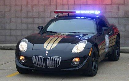 EDAG Pontiac Solstice Cop Car