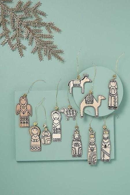 decoración navidad anthropologie