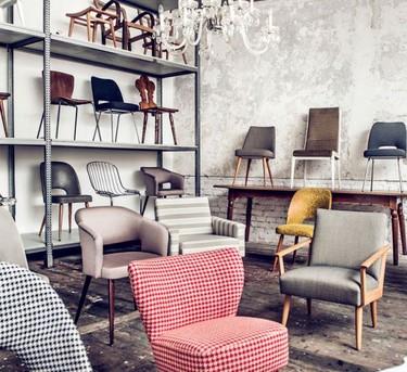 """Delicadeza y belleza en el mobiliario de Martina Sperl, diseños actuales con una inspiración """"vintage"""""""