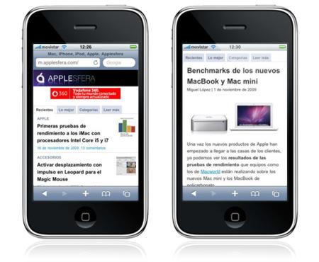Presentamos Applesfera en formato móvil