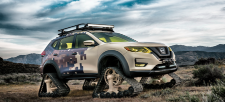 Nissan X-Trail Warrior Concept, porque en los concept todo se vale