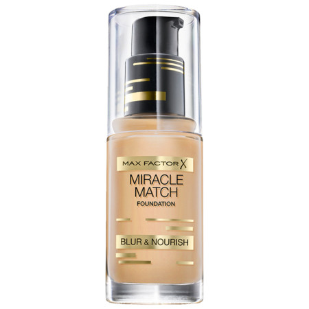 Max Factor Maquillaje Miracle Match Foundation