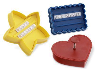 Moldes para galletas con mensajes