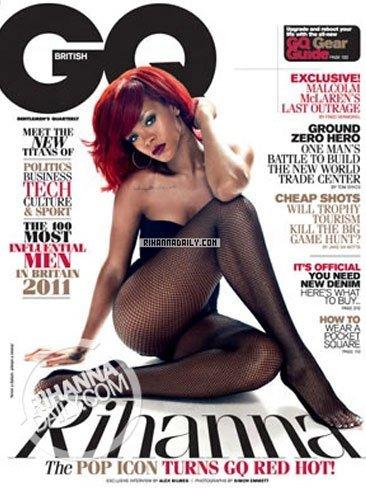 Rihanna levanta más que pasiones en GQ