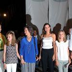 Blanco y negro: la combinación cromática que acompañó anoche a Doña Letizia Ortiz