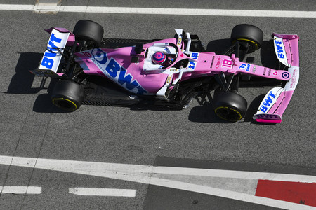 Stroll Montmelo F1 2020