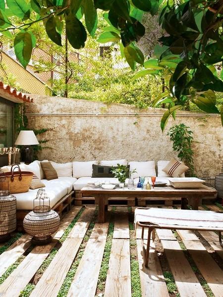 Terrasse Diy En Palettes De Bois