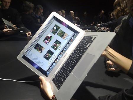 Macbook Air, imágenes reales