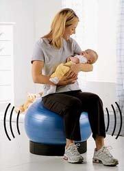 Baby Bouncy: calma al bebé a la vez que endurecemos los glúteos