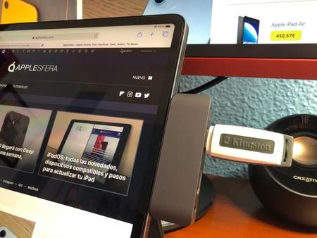 Cómo conectar y usar un USB en un iPad y iPhone