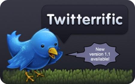 Twitterrific 1.1 available