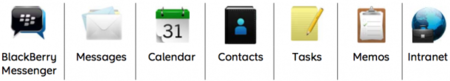 Blackberry Bridge aplicaciones
