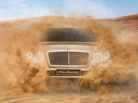 Bentley SUV, ahora un teaser en vídeo