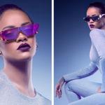 Rihanna, Dior y las gafas futurísticas