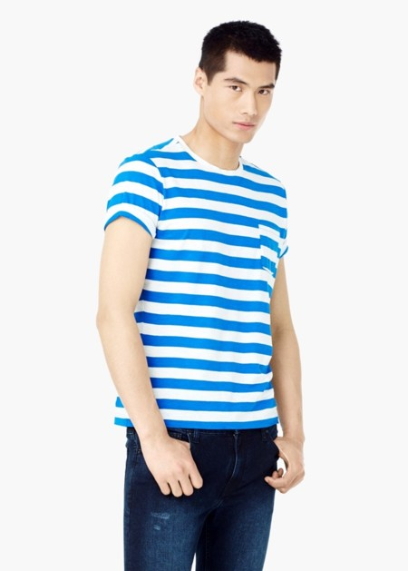 La camiseta de rayas