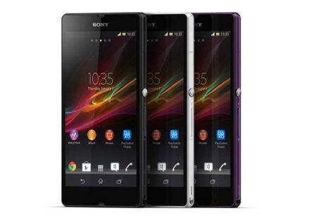 Sony Xperia Z está en el CES 2013, en tres colores