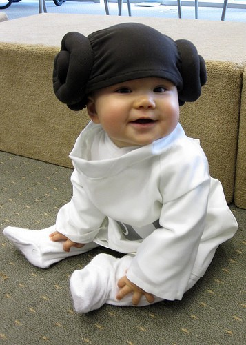 Halloween Princess Leia Costume