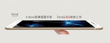 Coolpad IVVI, otro smartphone que baja de los sorprendentes 5 milímetros de grosor
