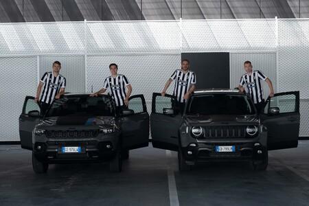 La Juventus y Cristiano Ronaldo estrenan camiseta con todo y tecnología Jeep 4xe
