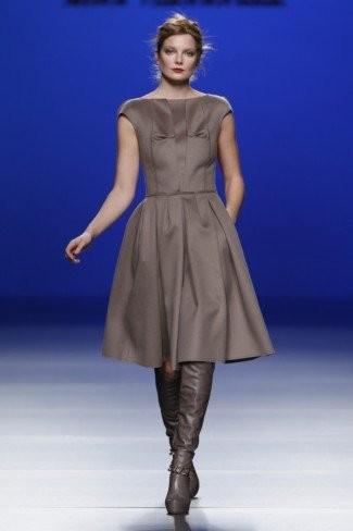 Kina Fernández en la Cibeles Madrid Fashion Week Otoño-Invierno 2011/2012