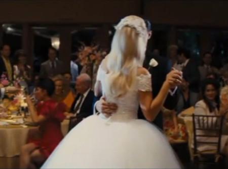 Espalda Lorenzo Caprile Vestido novia Lobo Wall Street