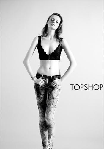 TopShop, colección Denim Primavera-Verano 2010: el vaquero de la mujer joven IV