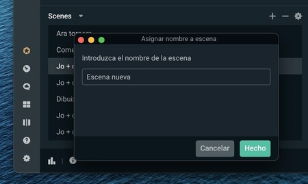 Streamlabs Obs Mac™ Escenas