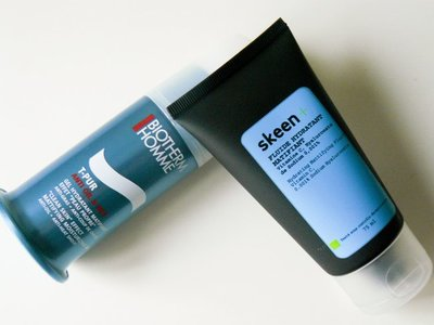 Hidratantes para pieles grasas: Skeen+ vs Biotherm Homme