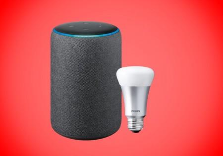 Aprovecha el potencial del Echo Plus a mitad de precio con la bombilla Philips Hue de regalo: 75 euros en Amazon