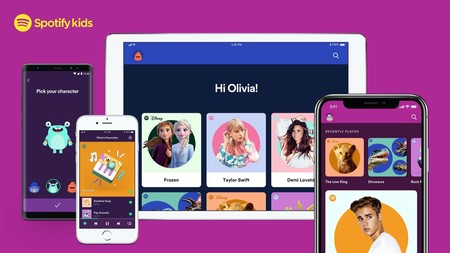 Spotify amplía su familia de aplicaciones con Spotify Kids, con contenido seleccionado para niños