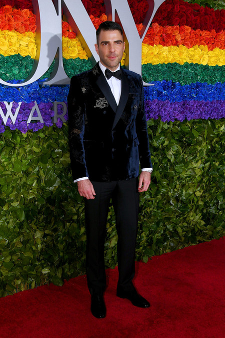 Zachary Quinto 73rd Annual Tony Awards Arrivals Red Carpet