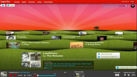 Last.fm Discover, descubre nuevos grupos y música de forma rápida y sencilla